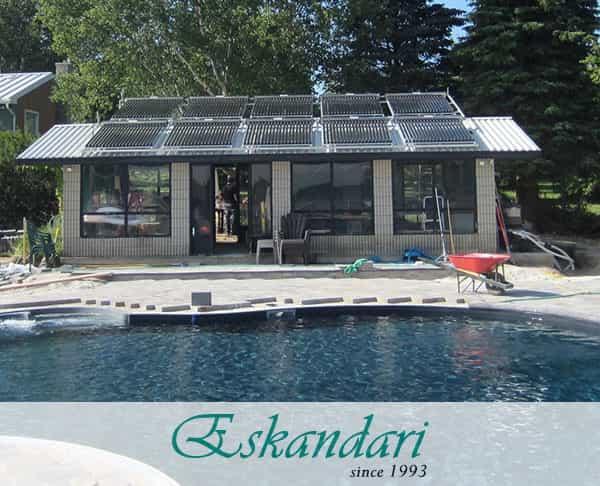 گرمایش آب خورشیدی