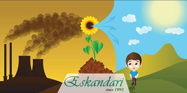 علل گرمایش خاک گلخانه