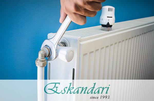 سیستم گرمایش رادیاتور خانگی