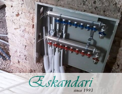 تنظیم سیستم گرمایش زیر زمینی
